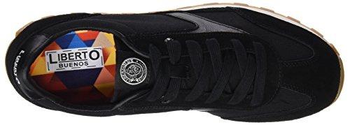 LIBERTO Herren Lib41cl Sneaker Schwarz (Negro)