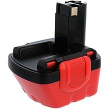 Batería Ni-Cd, de alta calidad, 12V, 2,0Ah, compatible con los modelos: Bosch PSR12VE-2, PSR1200, PSR12-2, PSR12, PSR 1200, PSR 12-2, PSR 12 VE-2, PSR 12, PSB12VE-2, PSB 12 VE-2, PAG12V, PAG 12V, GSR12VE-2, GSR12V, GSR12-2, GSR12-1, GSR 12-2, GSR 12-1, GSR 12 VE-2, GSR 12 V, GSB12VE-2, GSB 12 VE-2, GLI12V, GLI 12V, GDS12V, GDS 12 V, GDR12V, GDR 12 V, EXACT 12, 34612, 3455-01, 3455, 3360K, 3360, 32612, 23612, 22612