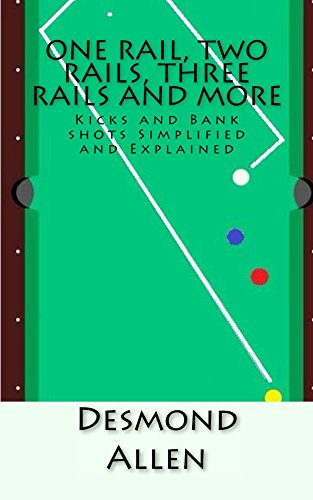 One Rail, Two Rails, Three Rails and More: Kicks and Bank shots Simplified and Explained (English Edition) por Desmond Allen
