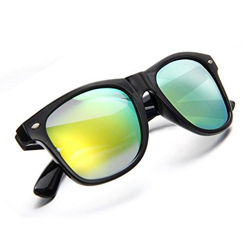 Aroncent Gafa de Sol Polarizadas contra UV400 Retro Lente para Conducción, Golf, Ciclismo, Pesca, Carrera y Mucho Más Deportes Exteriores para Hombre Mujer Unisex