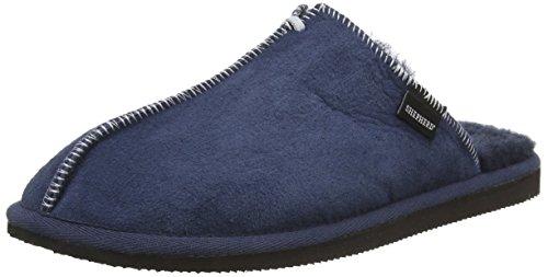 Shepherd Hugo, Pantofole uomo Blu Blu (Navy) 41