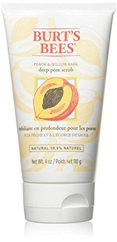 burts-bees-peach-and-willowbark-deep-pore-scrub-110g