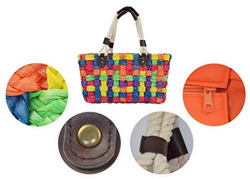 Z&Y, Borsa a zainetto donna Multicolore Multicolore Multicolore