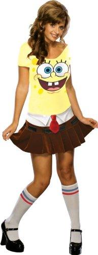 Sexy Spongebob Kostüm für Erwachsene - Spongebabe - -