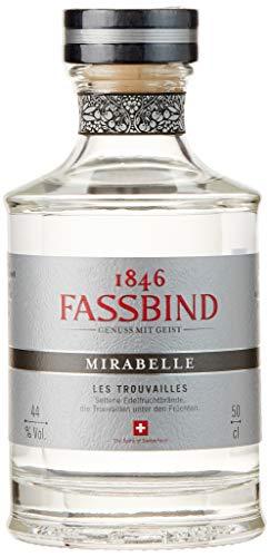 Brennerei Fassbind Les Trouvailles Mirabelle Obstbrände (1 x 0.5 l)