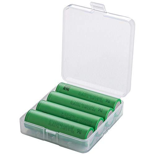 4er Set MURATA VTC5 Konion Akku Batterien Li-Ion / 3,7V - in Premium Akku Box für Akkus 4 VTC5 inkl. Box