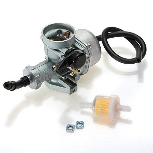 GOOFIT PZ19 filtre /à air Carburateur Rebuild Kit pour XR CRF 50cc 70cc 90cc 110cc 125cc Mobylette ATV POLARIS Taotao Sunl Roketa