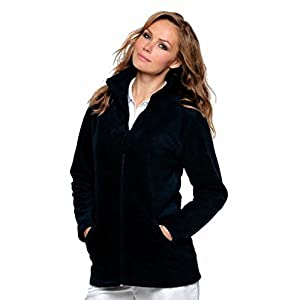 41069dgWiDL. SS300  - Ladies Full Zip Premium Fleece Jackets Sizes 8 to 22 SUITABLE FOR WORK & LEISURE