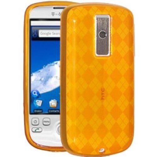 Amzer Luxe Filigrane Schutzhülle für HTC Magic G2 / T-Mobile myTouch 3G, Farbe: Orange 3g Htc Magic