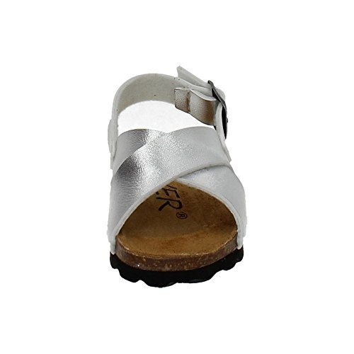 MADE IN SPAIN , sandales fille Argent