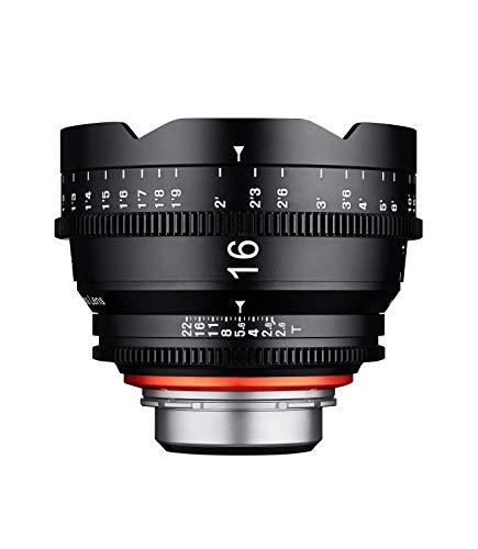 "XEEN Cinema 16/2,6\"" Canon EF Vollformat Objektive schwarz"