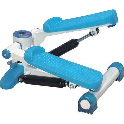 JK Fitness 5010 Mini Stepper, Blu/Bianco