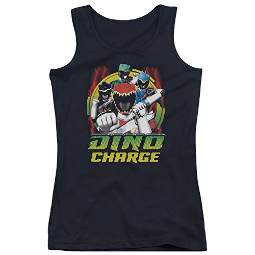 Power Rangers - Junge Frauen Dino Blitz Tank Top, Small, Black