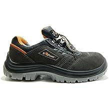 U-Power Red Lion EMOTION S1P SRC: Zapatos de seguridad trabajo para hombre/mujer talla 43 DSpV3Rz