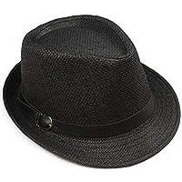 Sunbohljfjh Sombrero del Sol de los Deportes al Aire Libre del Jazz de la Moda Coreana de los Hombres de MAXVIVI Topper los 56 * 58cm