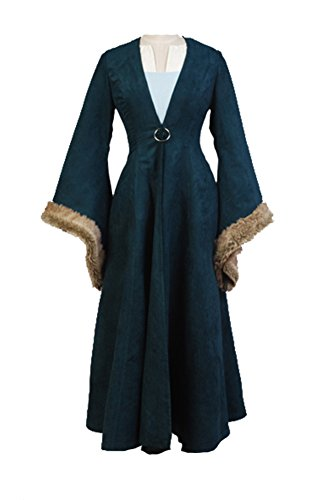 Fuman Game of Thrones Catelyn Stark Cosplay Kostüm (Stark Catelyn Kostüm)