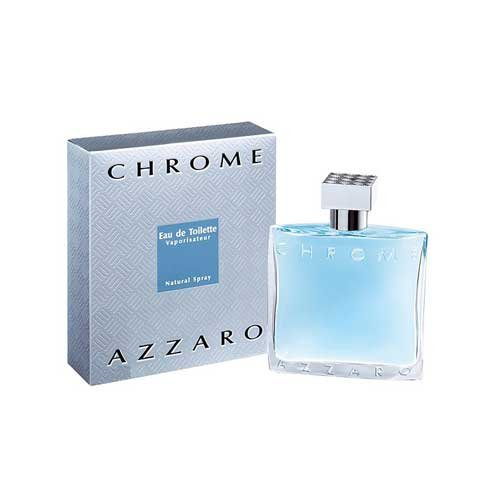 Azzaro Chrome Eau De Toilette for Men, 100ml