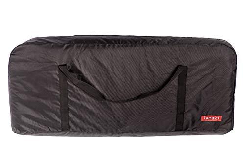 lamaki:lab Transporttasche E-Scooter Hochwertig Stylisch Komfortabel Universal Xiaomi Mijia M365 Elektro Roller Trage Tasche Lenker Robust Reissfest hohe Qualität wasserdicht 110 * 45 * 50 cm schwarz