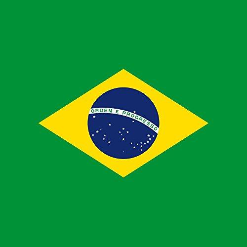 Apple iPhone 5s Housse Étui Protection Coque Brésil Drapeau Ballon de football Étui en cuir marron
