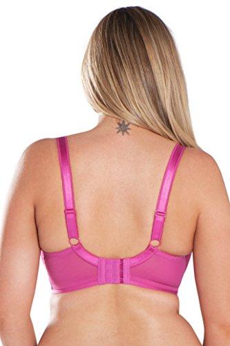 Curvy Kate Damen Balconette BH Pink (Hot Pink)