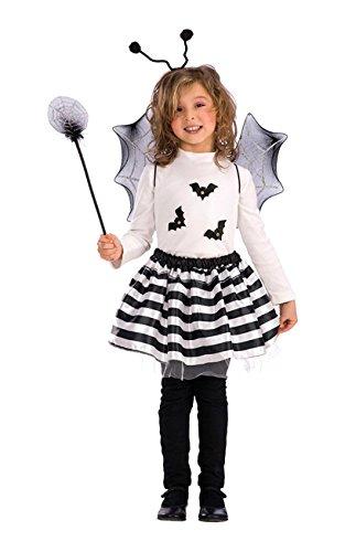Carnival Toys 06792 - Fledermaus-Set, bestehend aus Flügeln, Rock, Haarreif, Zauberstab