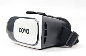 """DOMO VR9 nHance VR Headsets for Apple iPhone, Samsung, One plus One, Sony, Xiaomi Red MI, Nokia, Motorola, HTC, ASUS, LeTV, Coolpad, Huawei, Lenovo, LG and all other Smart Phones upto 6"""" Screen"""