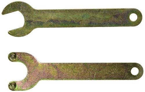 eDealMax 2-en-1 Sola Boca Abierta Llave Juego de Laves Para Amoladora Winkel, 17 mm (Juegos Llaves Para)