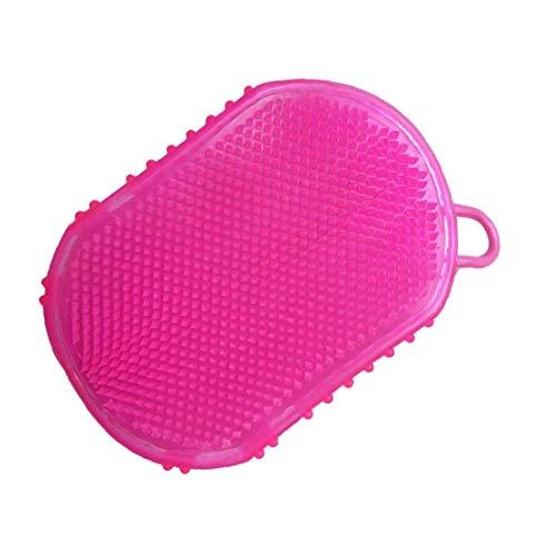 1Pcs Silikon-Massage-Handschuh Glatt Abnehmen Anti-Cellulite-Bürste Badehandschuh Massage Entspannung Zufällige Farbe