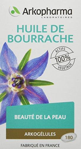 Arkopharma Phytothérapie Cure Arkogélules Huile de Bourrache 180 Capsules