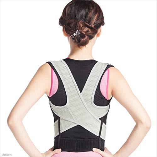 TUNBG Erwachsene Kyphose-Korrektur Belt Rückensitze Haltung Kleidung Rückenkorrektor,S - Haltung Unterstützung Korrektor