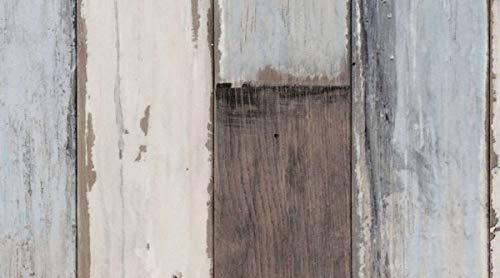 Gerflor PRIMETEX - Fisherman Ocean 1667 PVC Linoleum Rolle, Fußbodenbelag, PVC Vinyl Bodenbeläge - Holzdekor - Breite 4m