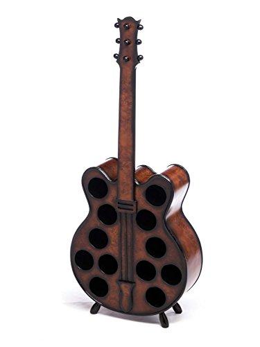 Weinregal 124cm Gitarre Weinständer Flaschenregal Flaschenständer Wein Regal