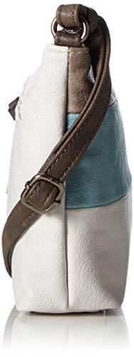 Tom Tailor Acc Damen Amelia Schultertasche, 5x17x24.5 cm Blau (Türkis)