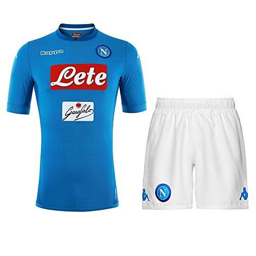 NAPOLI Kit Junior 17/18 Light blue/White 17/18 Naples Kappa
