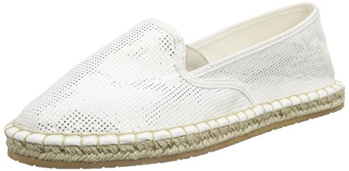 s.Oliver 24210, Damen Espadrilles, Weiß (WHITE 100), 38 EU (5 Damen UK)