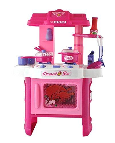 ISO TRADE Juego DE Cocina · para niñas · Rosa ·...