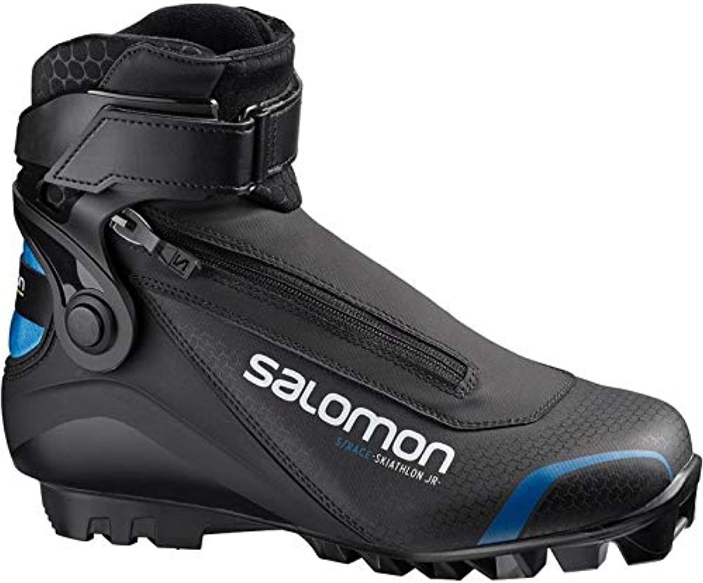 SALOMON S Race Race Race SKIATHLON Pilot JR, Nero Blu, 5 | nuovo venuto  29060c