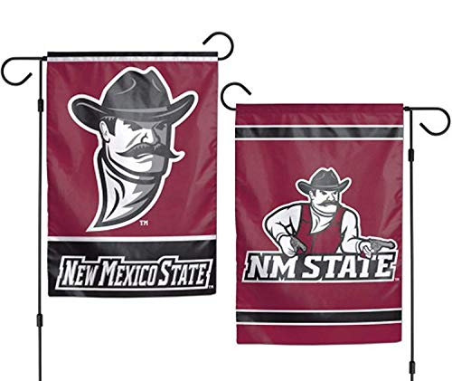 New Mexico State University Aggies NCAA Garden Flag Double Sided for Party Outdoor Home Decor(Size: 28inch W X 40inch H) -