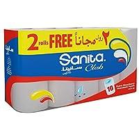 ورق مطبخ من سانيتا كلوب ، 28 سم ، 10 رول ، H614