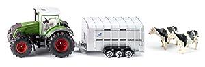 SIKU 1956 1:50 Preassembled Tractor Modelo de vehículo de Tierra - Modelos de vehículos de Tierra (1:50, Preassembled, Tractor, Metal, De plástico, Verde, Color Blanco)