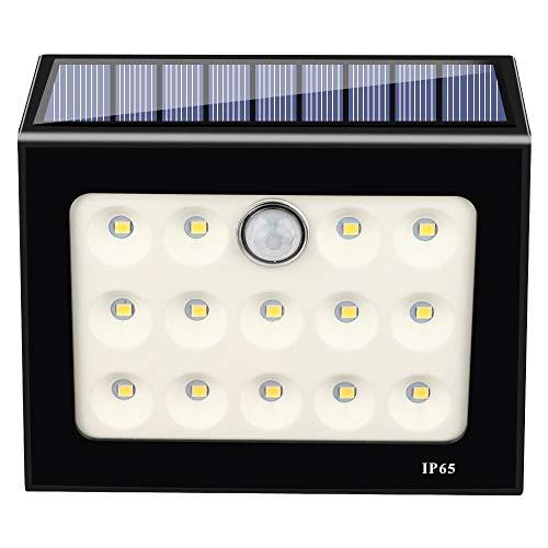 Renile Solar-LED-Leuchten für den Außenbereich, kabellos, 14 LEDs, Arbeitsleuchten, Notbeleuchtung, Camping für hohe Effizienz und langlebige Stromversorgung -