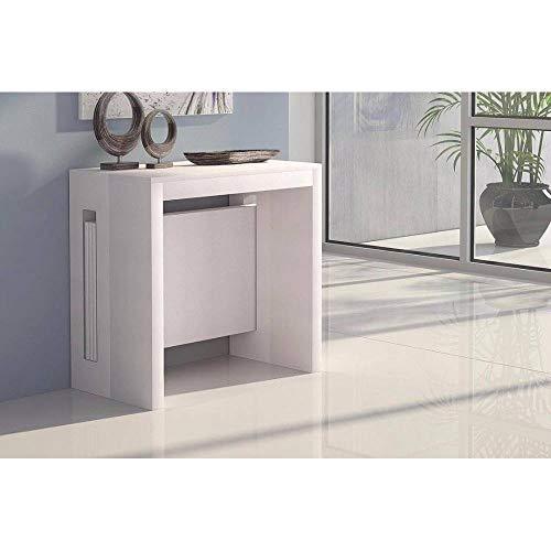 Terraneo Konsole ausziehbar Grandezza weiße - Erweiterbar Konsole Tisch