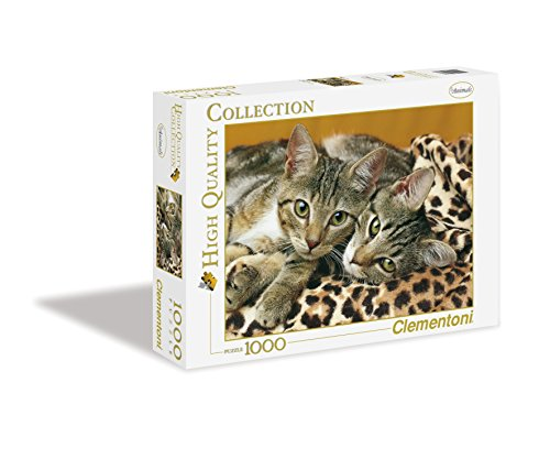 Clementoni - 39237.7 - Puzzle Collection High Quality - 1000 Pièces - Les Yeux des Chats