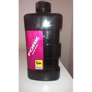 Agip Oil/fork10W Öl-Hängelampe rot/schwarz 1L