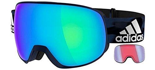 Adidas PROGRESSOR PRO PACK AD83 MISTERY BLUE/SPHERICAL BLUE MIRROR Unisex Skibrillen