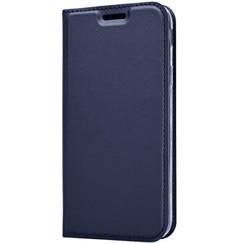 Kompatible Case Handytasche Galaxy J3 2017/J5 2017/J7 2017[Standfunktion] [Kartenfächer] [unterstützt kabelloses Laden] Flip Case Leder Brieftasche Handy Schutzhülle/Klapphülle (4, Galaxy J3 2017) - Speck Handy Brieftasche