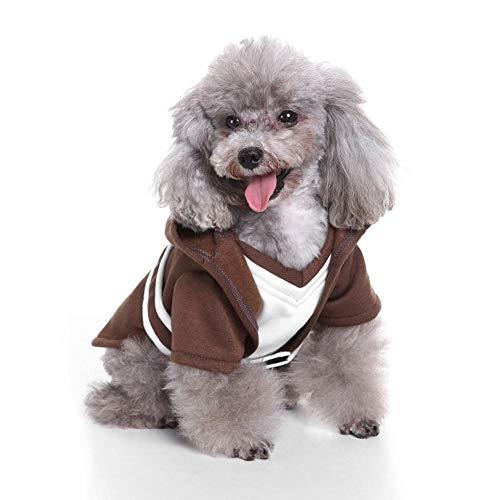 Kostüm Hunde Yoda - NiQiShangMao Hund Cosplay New Yoda Kostüme Haustier Kleidung Welpen Katze Shirt kleine Hund Kleidung Weihnachten Halloween Party Coat