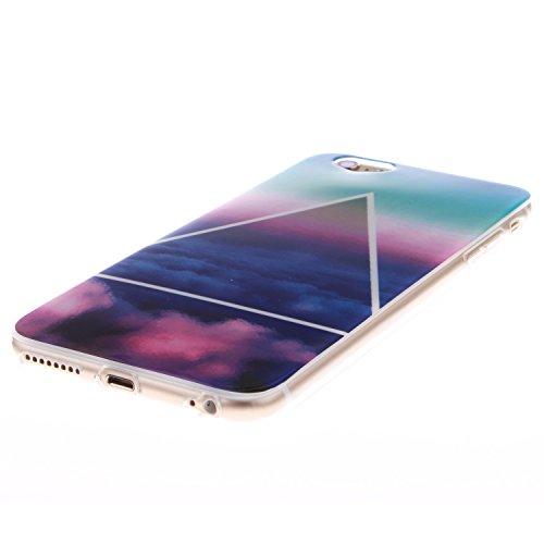 "MOONCASE iPhone 6 Case Coque Housse Silicone Etui Case Soft Gel TPU Cover pour iPhone 6 (4.7"") -TX13 ST12"