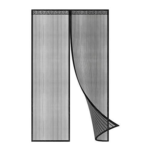 Cortina magnética para puerta, Mosquitera. Ideal para dejar pasar aire fresco libre de insectos, con cierre magnético automáticamente. Varios tamaños. (140 * 240cm)
