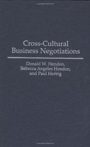 Cross-Cultural Business Negotiations